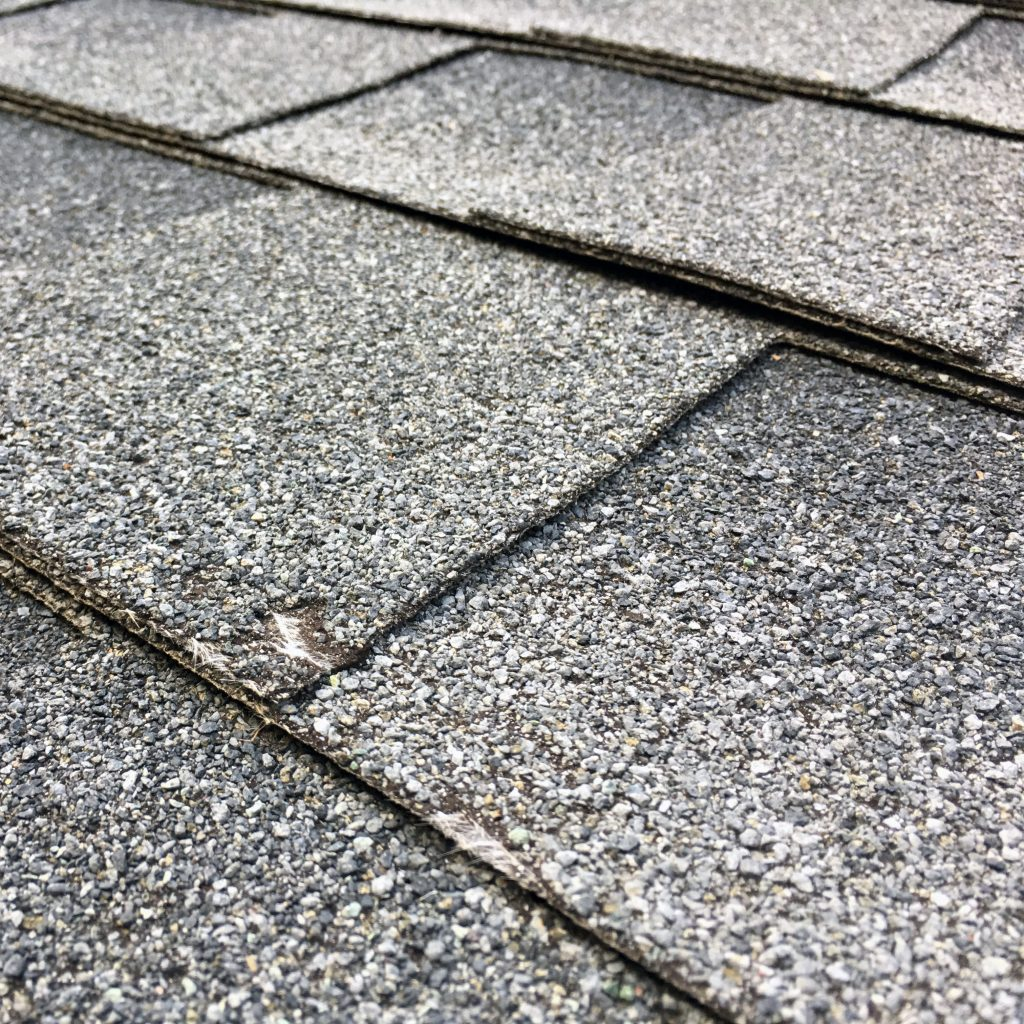 Close Up of Shingles