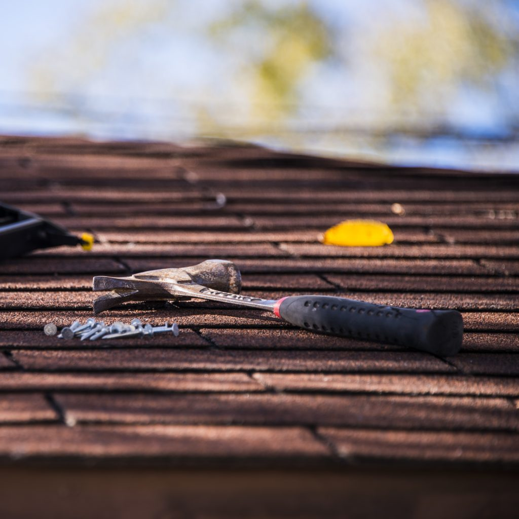 A Professional Roofer Always Brings the Best Tools and Materials to Each Project