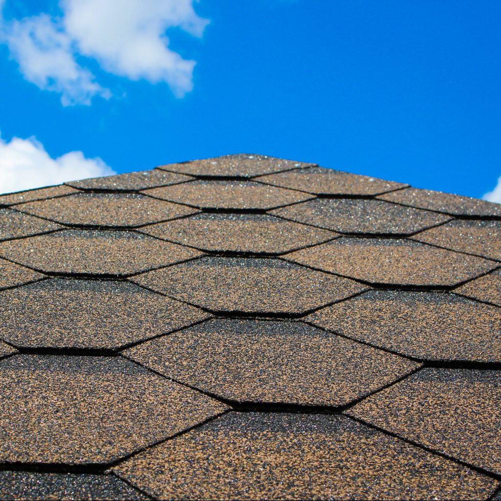 Close Up  of Architectural  Shingles