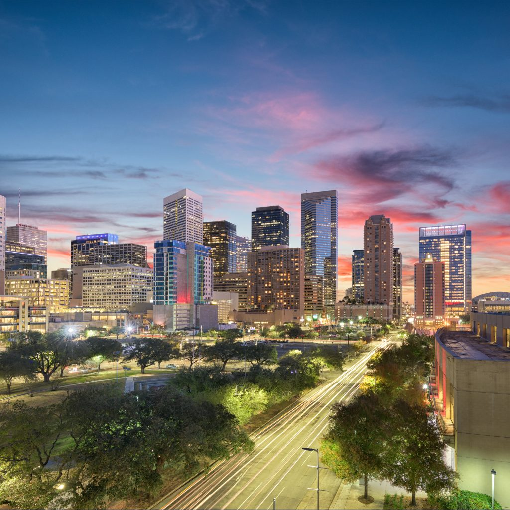 City Shot of Houston, Texas